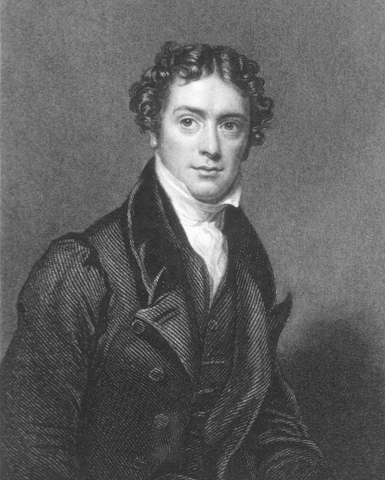 Michael Faraday in his late thirties
