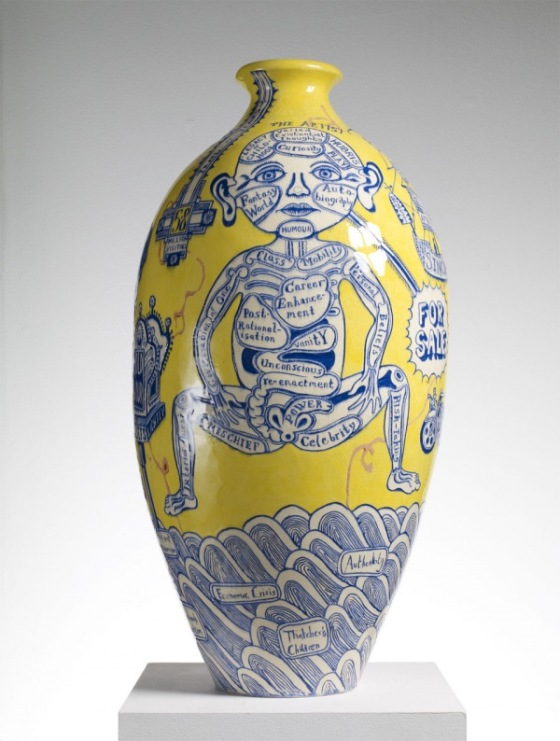 Grayson Perry, The Rosetta Vase (2011)