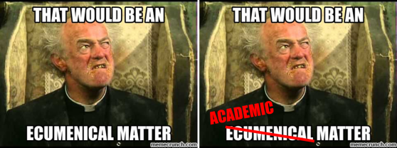 That would be an academic matter...